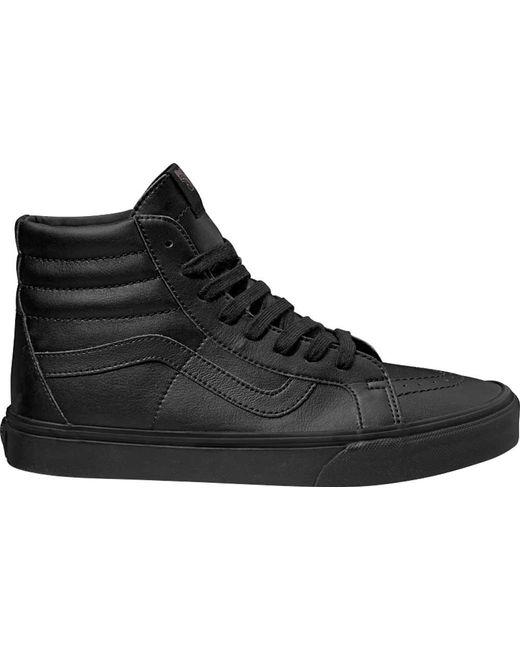 d902ff626c Vans - Black Sk8-hi Reissue High Top for Men - Lyst ...