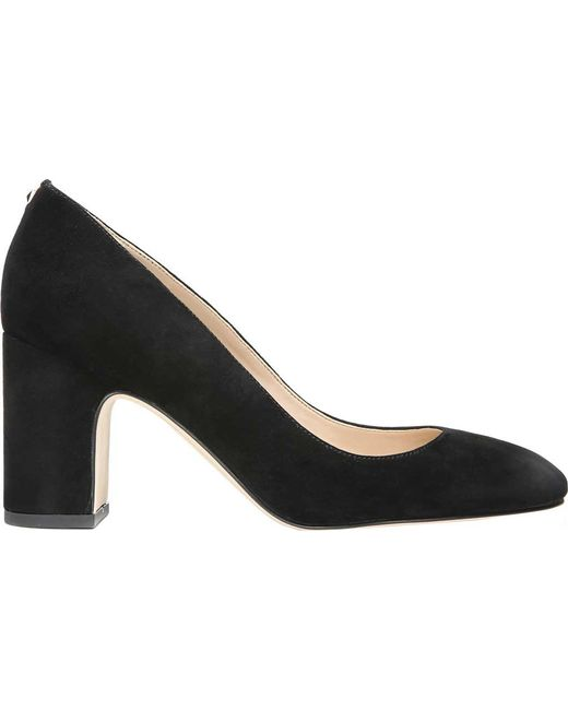 de0b13432f6d Lyst - Sam Edelman Junie Block Heel Pump in Black - Save 25%