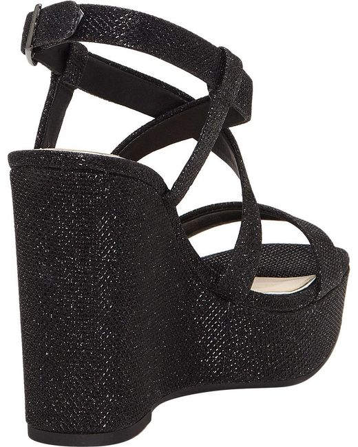 632b48cd6247 ... Jessica Simpson - Black Salona Platform Wedge Sandal - Lyst ...