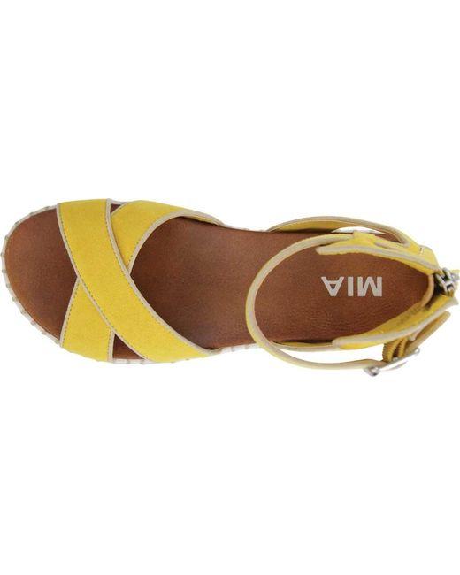 c364759e68a ... MIA - Multicolor Vita Espadrille Platform Sandal - Lyst ...