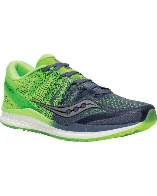 461d28fe35f Saucony - Green Freedom Iso 2 Running Shoe for Men - Lyst ...