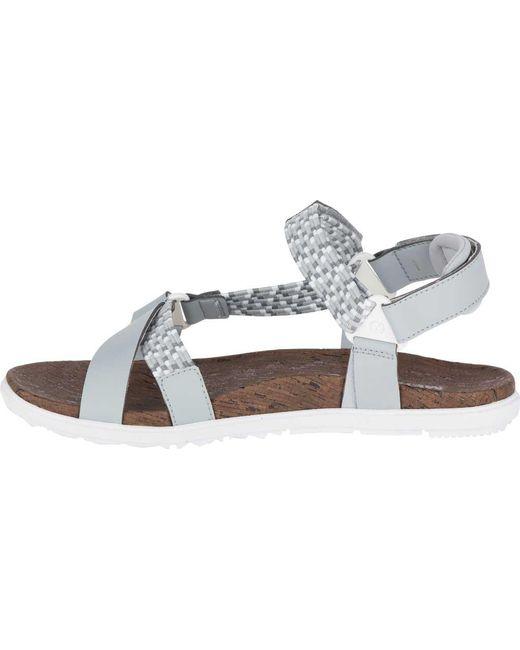 387f06c63d743 ... Merrell - Multicolor Around Town Sunvue Woven Active Sandal - Lyst ...
