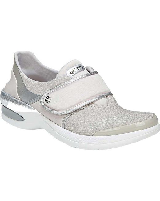 fd05f4c80e2d9a Bzees - Metallic Roxy Adjustable Strap Sneaker - Lyst ...