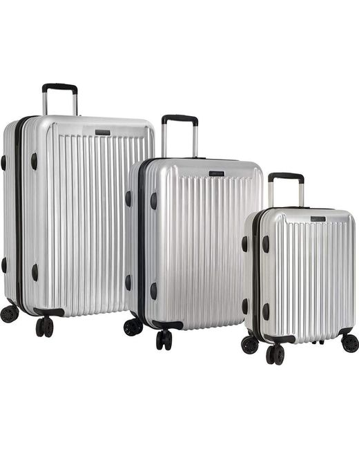 Anne Klein - Metallic Dubai 3-piece Hardside Luggage Set - Lyst