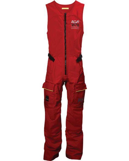 eee60633f5b Lyst - Helly Hansen W Aegir Race Salopette in Red - Save 30%