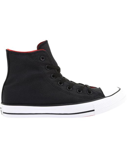 3758f60adb3c ... Converse - Black Chuck Taylor All Star Sonic Quilt High Top for Men -  Lyst ...