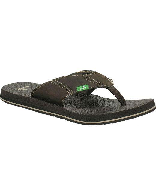 71f11b7bc736 Lyst - Sanuk Fault Line Thong Sandal for Men - Save 10.256410256410263%