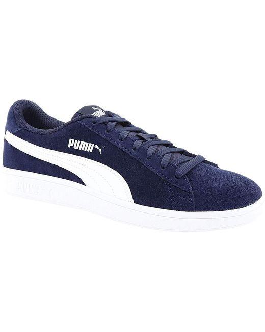 Lyst - PUMA Smash V2 Sneaker in Blue for Men - Save 46% c07ce8f85