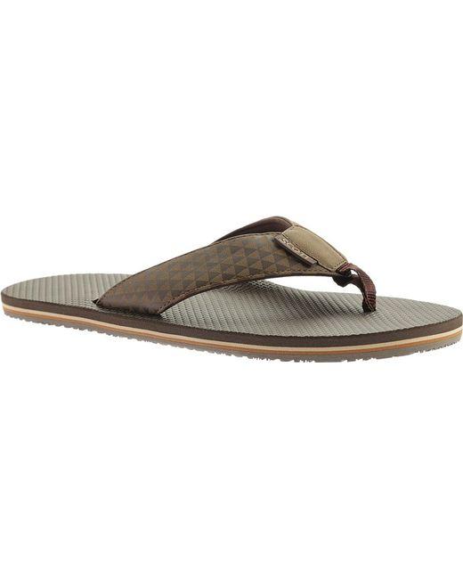 Scott Hawaii - Brown Koanui Thong Sandal for Men - Lyst