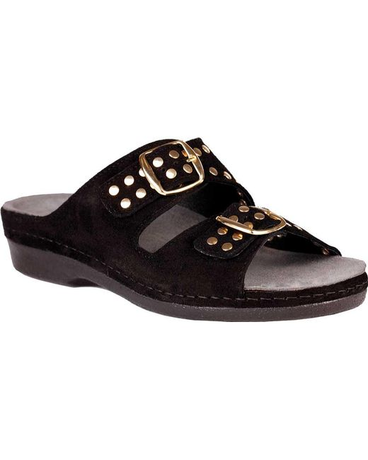 df5083fc31b Lyst - Helle Comfort Tori Slide in Black