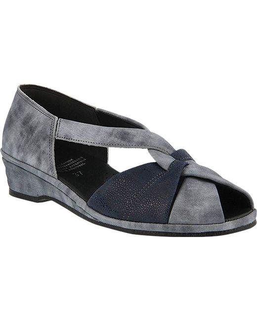 Spring Step - Blue Jasna Peep Toe Sandal - Lyst