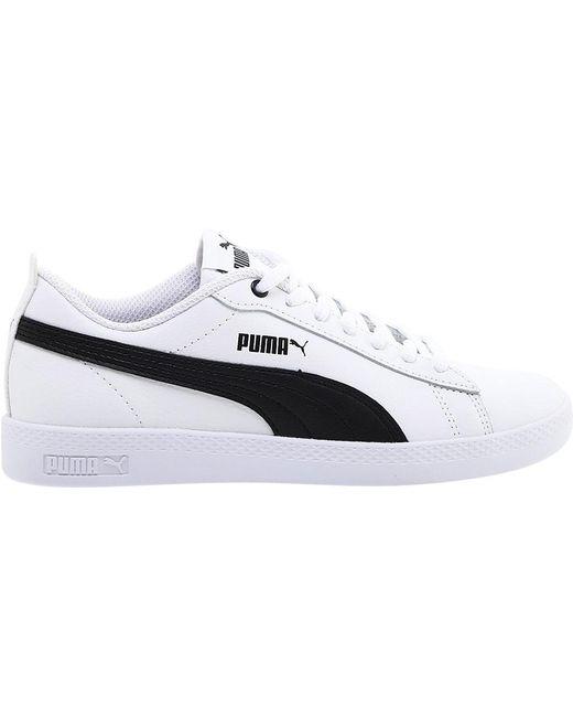 b30233b2656456 ... PUMA - White Smash V2 L Sneaker - Lyst ...