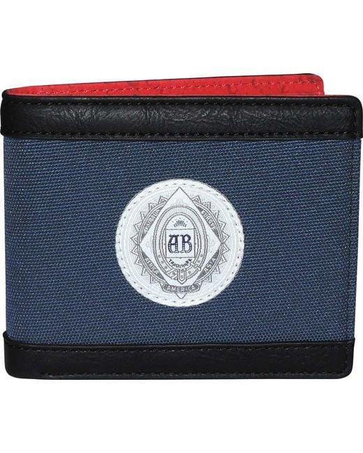 Buxton - Blue Budweiser Slimfold Wallet for Men - Lyst