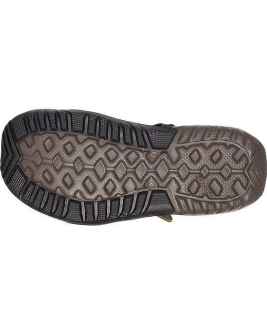 3e733905528c ... Crocs™ - Brown Swiftwater Mesh Deck Closed Toe Sandal for Men - Lyst