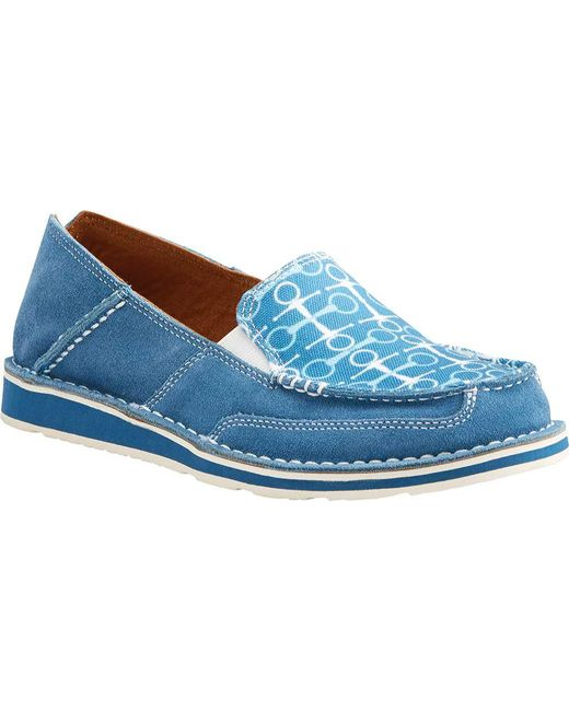 Ariat - Blue English Cruiser Loafer - Lyst