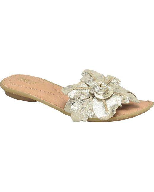 Born Mai Floral Slides 3Ny6EMow