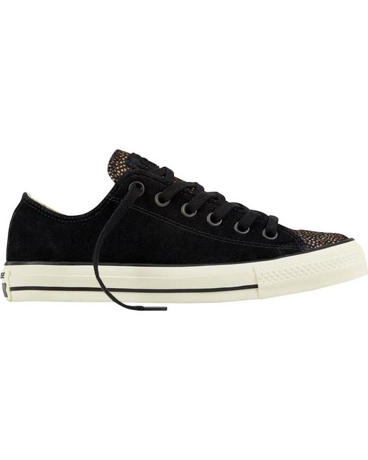 849acf7c2262 Converse - Black Chuck Taylor All Star Ox Pony Hair for Men - Lyst ...