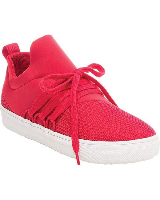 Steve Madden - Red Women's Lancer Athletic Sneakers - Lyst