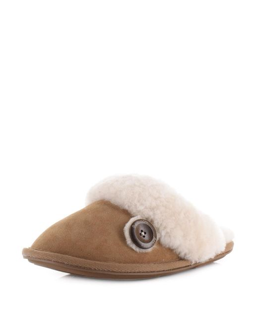 Bedroom Athletics - Brown Molly Slippers - Lyst