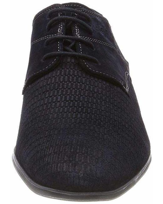 reputable site f8dc7 42e69 Bugatti Business Schuhe Blau Mosario in Black for Men - Lyst