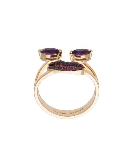 Delfina Delettrez | Purple 'ana' Ring | Lyst