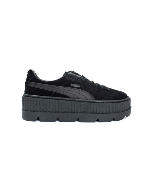 PUMA - Black Fenty X By Rihanna Cleated Creeper Sneakers - Lyst