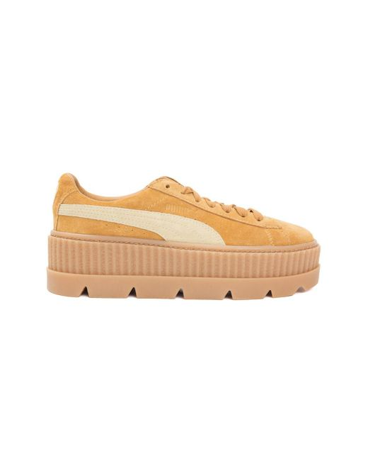 PUMA | Brown Fenty X By Rihanna Cleated Creeper Sneakers | Lyst
