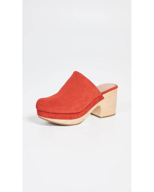 Rachel Comey Red Bose Low Clog