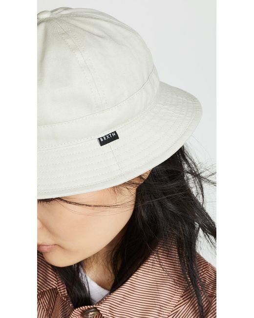 a8dc586136f ... Brixton - Multicolor Banks Ii Bucket Hat - Lyst ...