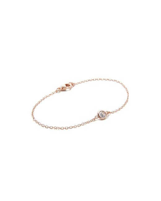 Shashi | Pink Solitaire Bracelet | Lyst