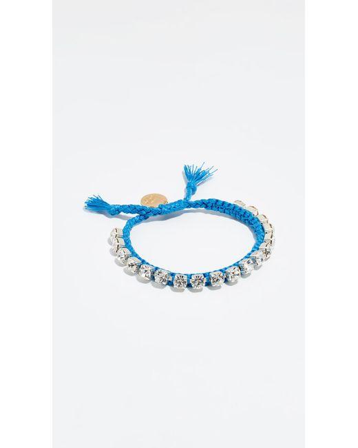 Venessa Arizaga - Blue Sweet Shine Bracelet - Lyst