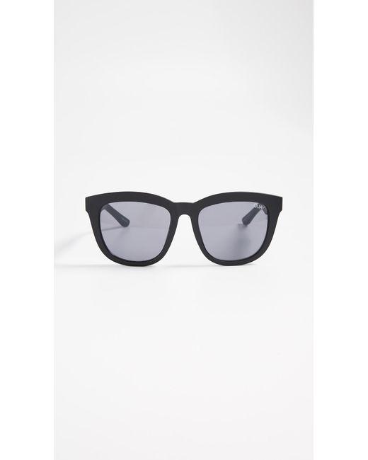 c43fb9b9e Quay - Black Zeus Sunglasses - Lyst ...