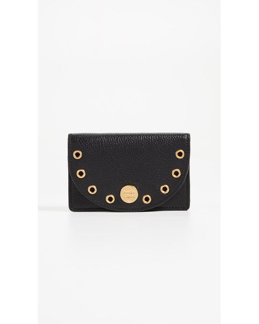 Black Kriss Long Zip Wallet See By Chlo sfFQY