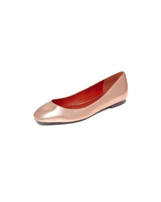 3.1 Phillip Lim   Multicolor Square Toe Ballet Flats   Lyst