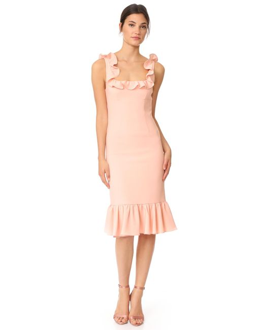 Cinq À Sept | Pink Opalina Dress | Lyst