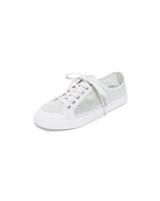 Tretorn | White Tournament Net Sneakers | Lyst