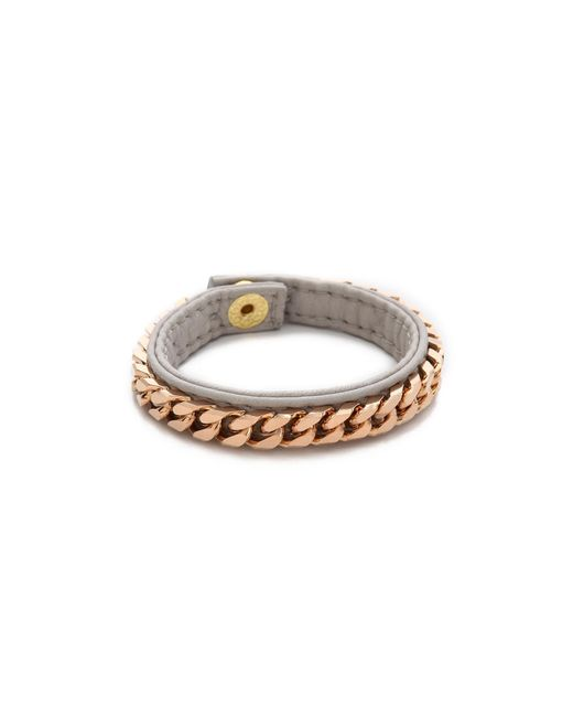 Vita Fede | Gray Monaco Single Bracelet | Lyst