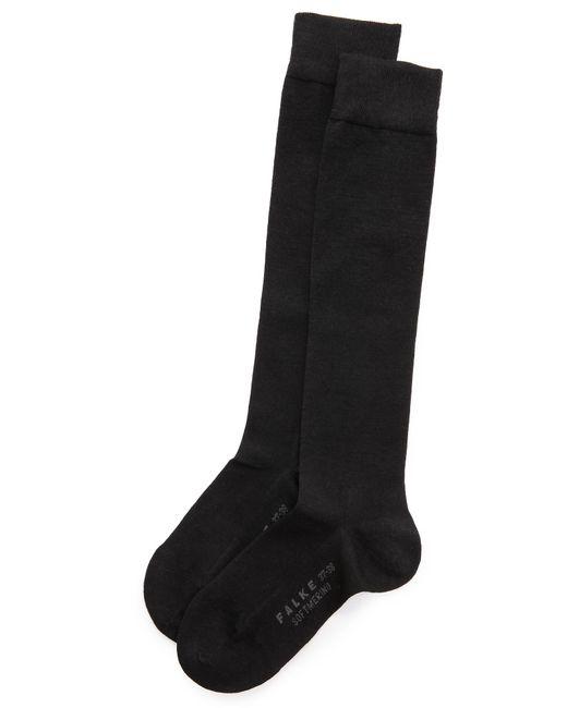 Falke | Black Soft Merino Knee High Socks | Lyst