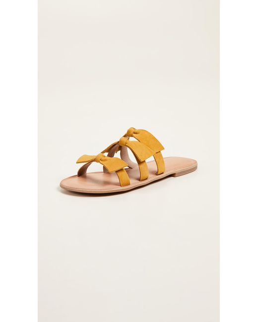 Jeffrey Campbell - Multicolor Atone Bow Sandals - Lyst