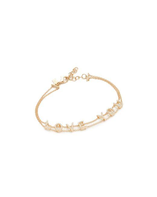EF Collection - Metallic 14k Gold Diamond Bracelet - Lyst