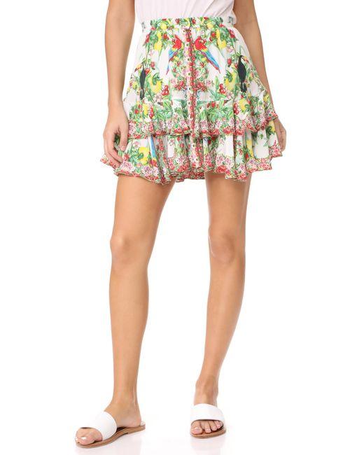 Camilla | Multicolor One Flew Miniskirt | Lyst