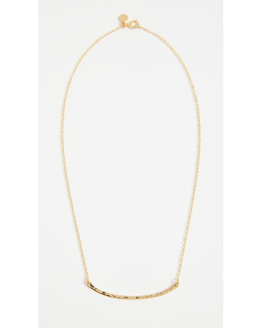 Gorjana - Metallic Taner Bar Necklace - Lyst