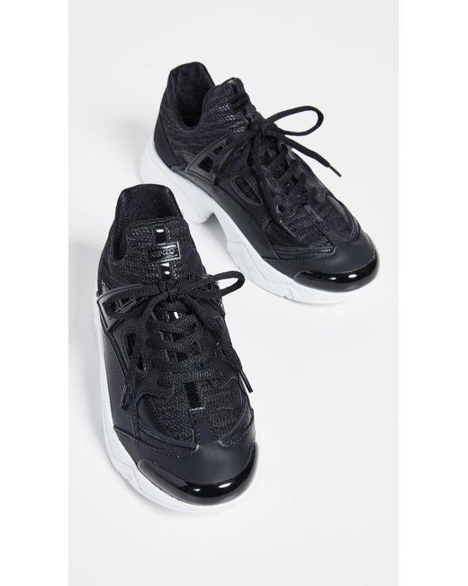 0732be203af9 KENZO - Black Sonic Sneakers - Lyst ...