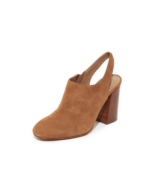 Michael Kors | Brown Clancy Booties | Lyst
