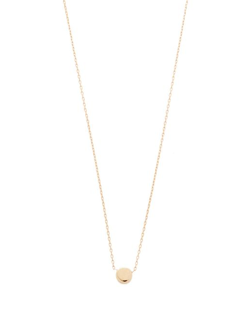 Adina Reyter - Metallic Super Tiny Disc Necklace - Lyst