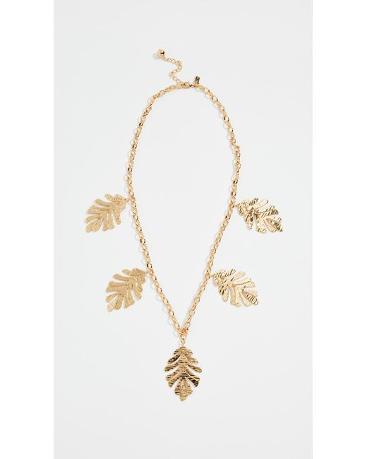 Kate Spade - Metallic A New Leaf Statement Necklace - Lyst