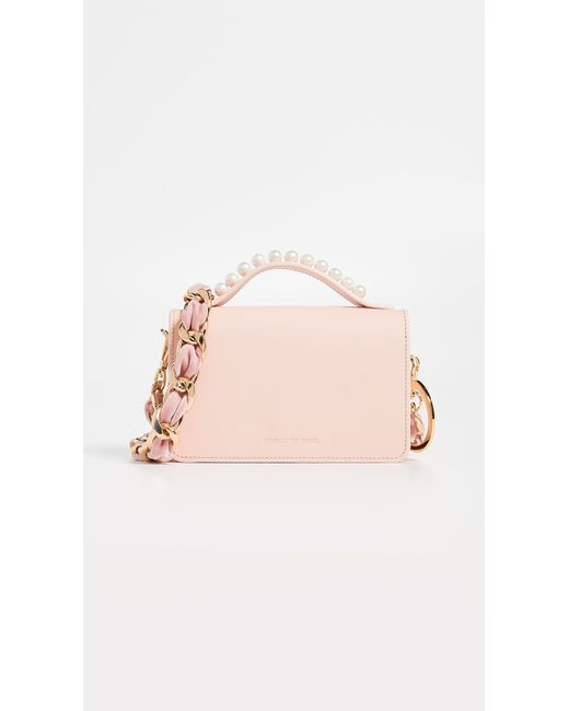 Mother Of Pearl - Pink Jude Stud Satchel - Lyst