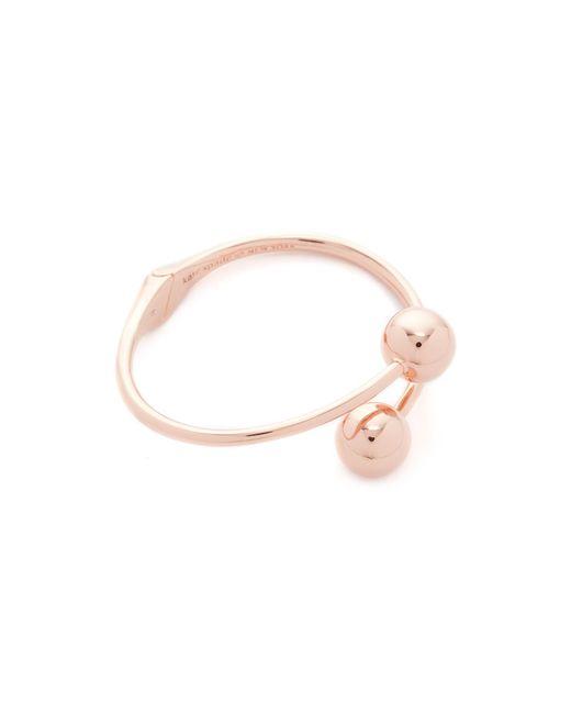 Kate Spade | Multicolor Golden Girl Bauble Cuff Bracelet | Lyst