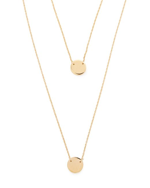 Jennifer Zeuner - Metallic Dylan Necklace - Lyst