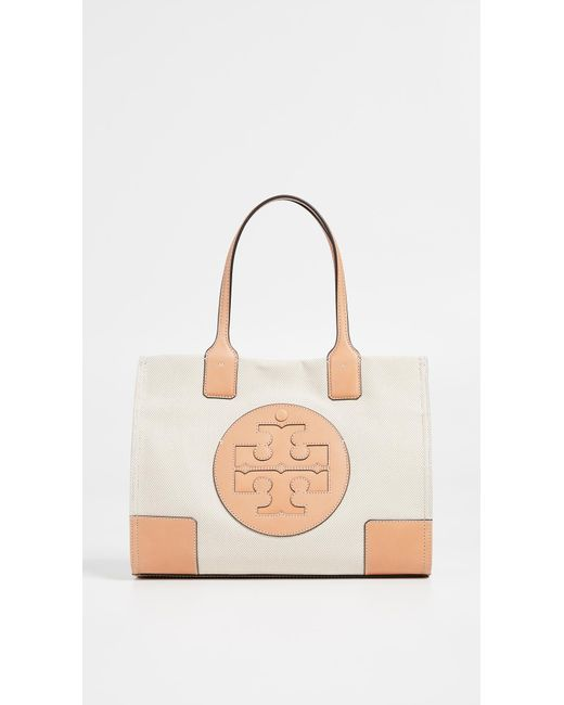 e8bd677b9188 Tory Burch - Multicolor Ella Canvas Mini Tote - Lyst ...